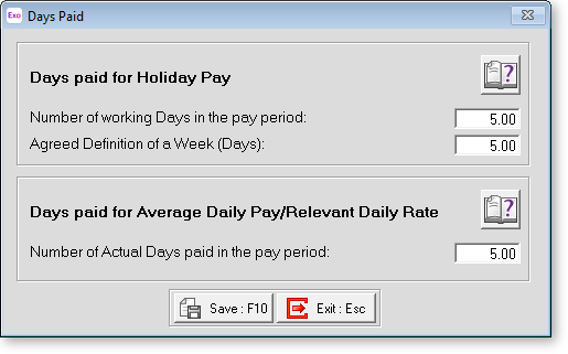 how to set a sick leave allowance in myob